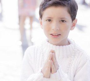 Como você apresenta Deus a seu (a) filho (a)?